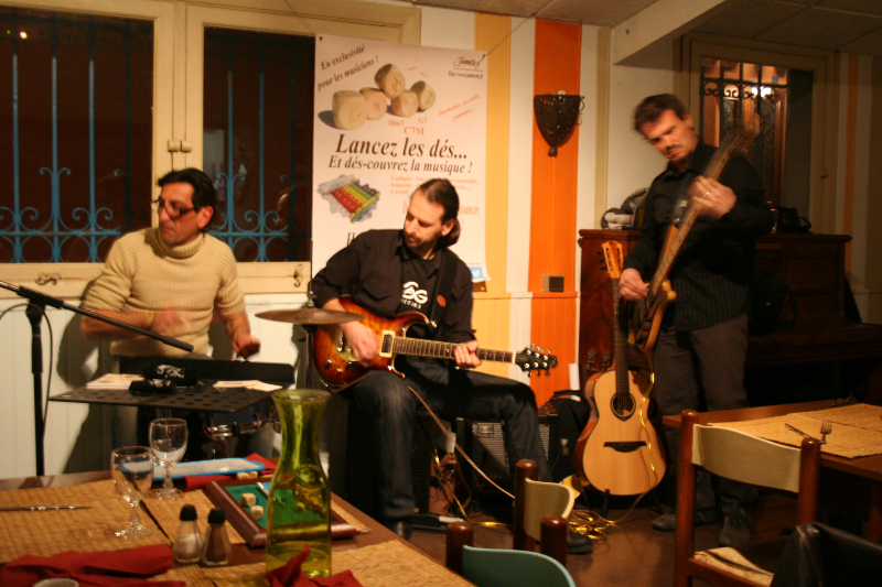 Richard, Manu et Jean-Yves